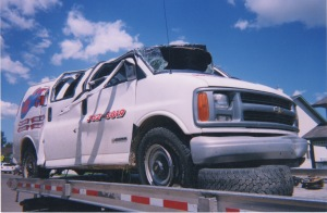 Van Wreckage Picture